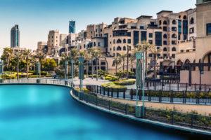 kleine winkelcentrum Downtown Dubai
